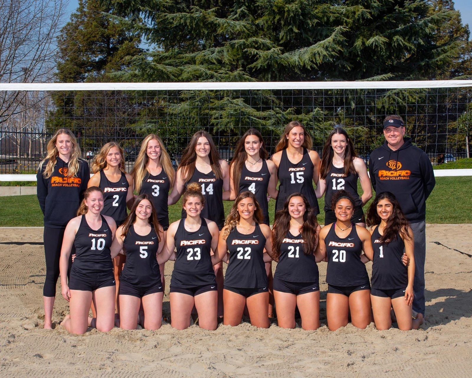 2020 Women S Beach Volleyball Roster University Of The Pacific