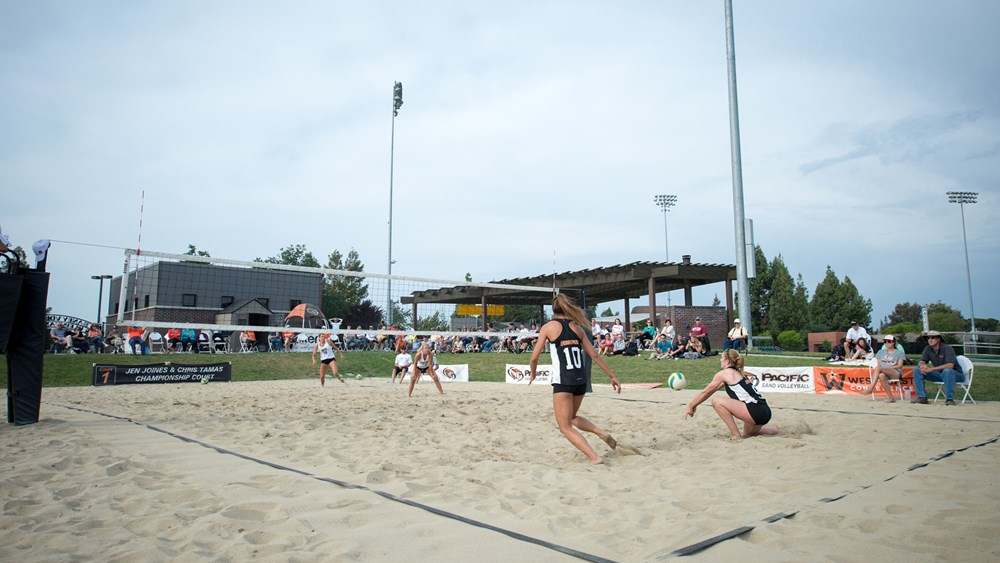 Raney Sand Volleyball Courts Facilities University Of The Pacific